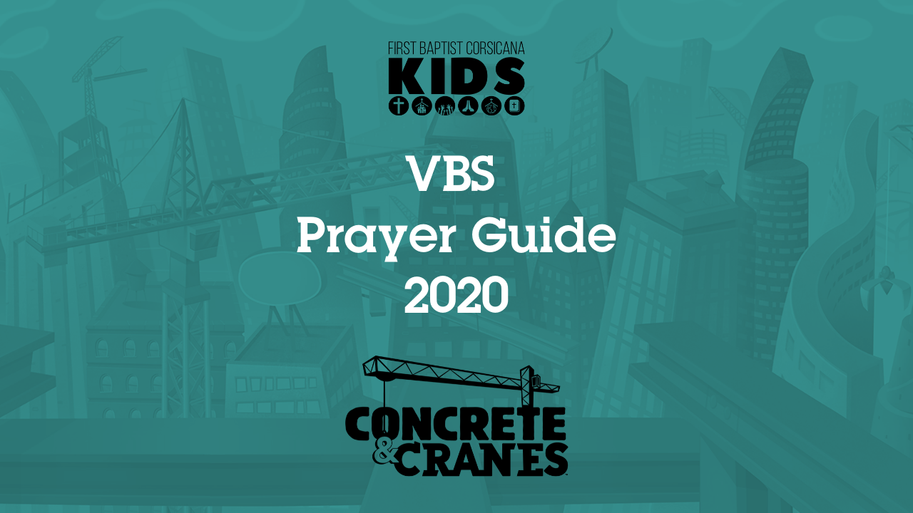 VBS Prayer Guide 2020