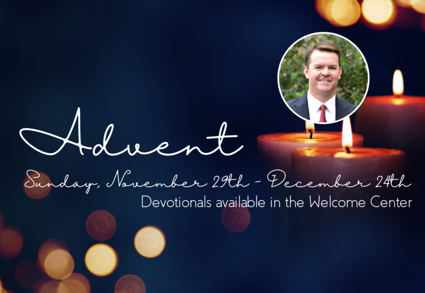 Pastor's Update: Focused on the HOPE of Christ's coming