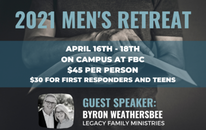 Register for Men's Retreat