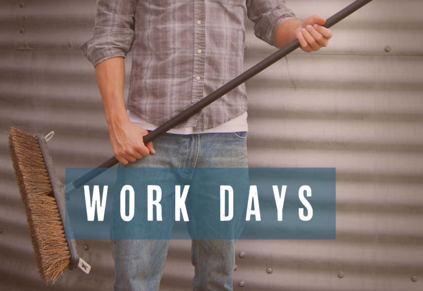 Men's Workday Rescheduled